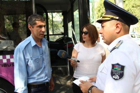 Nəqliyyat Nazirliyi Bakıda avtobus sürücülərinə qarşı reydlər keçirir – VİD ...