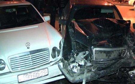 Bakı-Sumqayıt yolunda 13 avtomobil toqquşdu — DƏHŞƏTLİ QƏZA + VİDEO